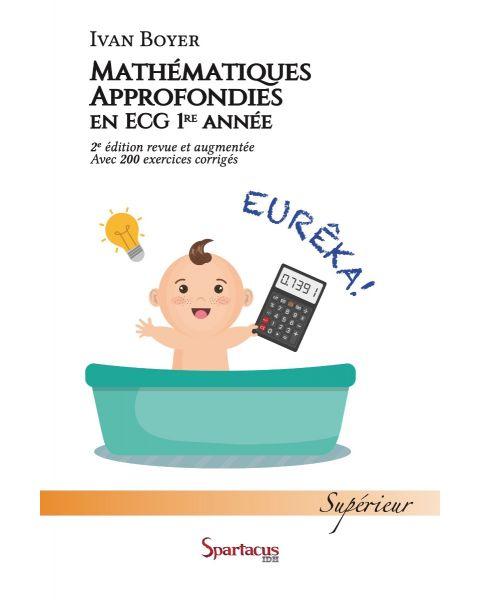 Mathématiques approfondies, ECG première année