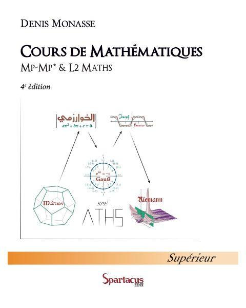 Cours de Mathématiques MP-MP*-L2